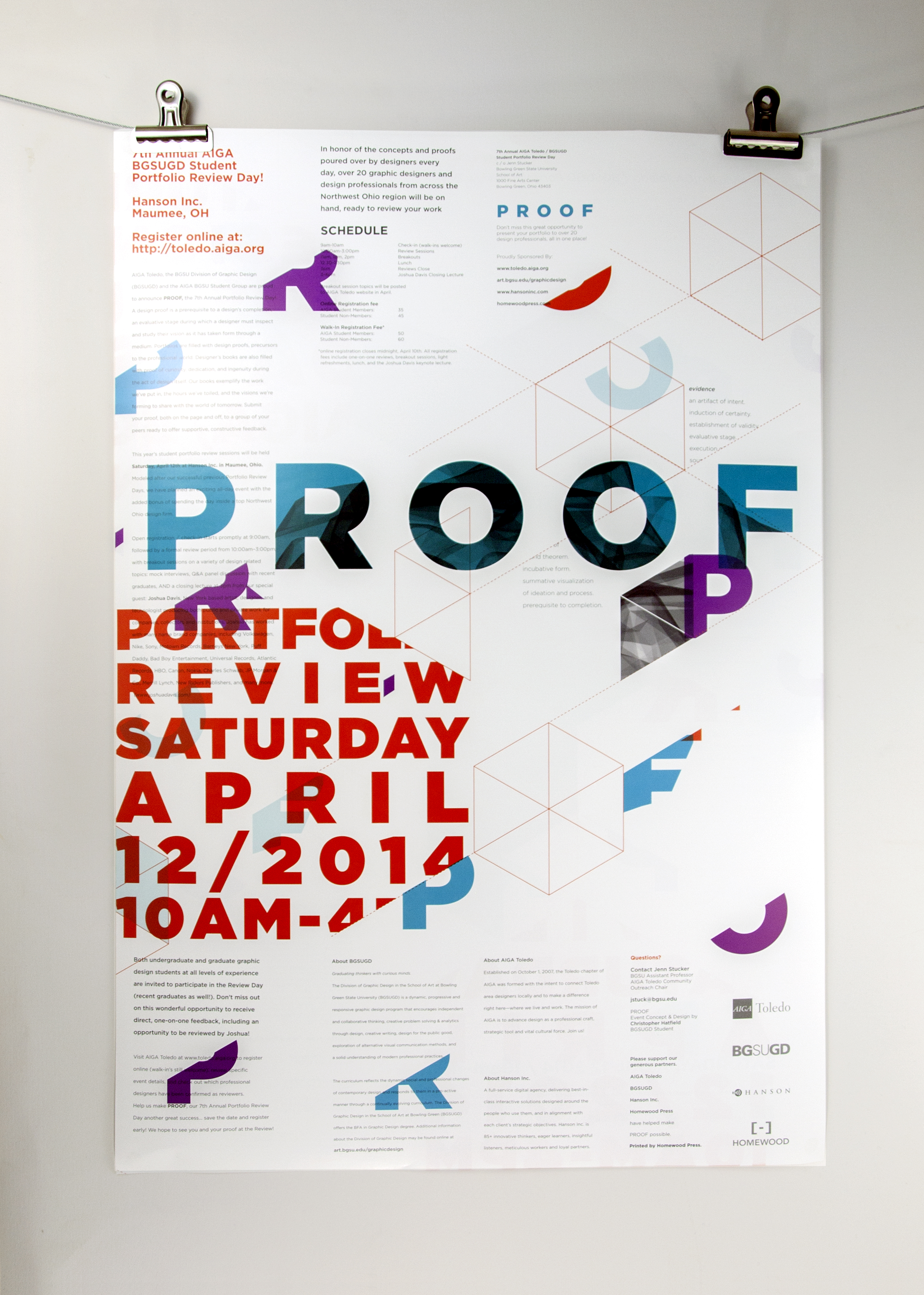 PROOF: Portfolio Review Day