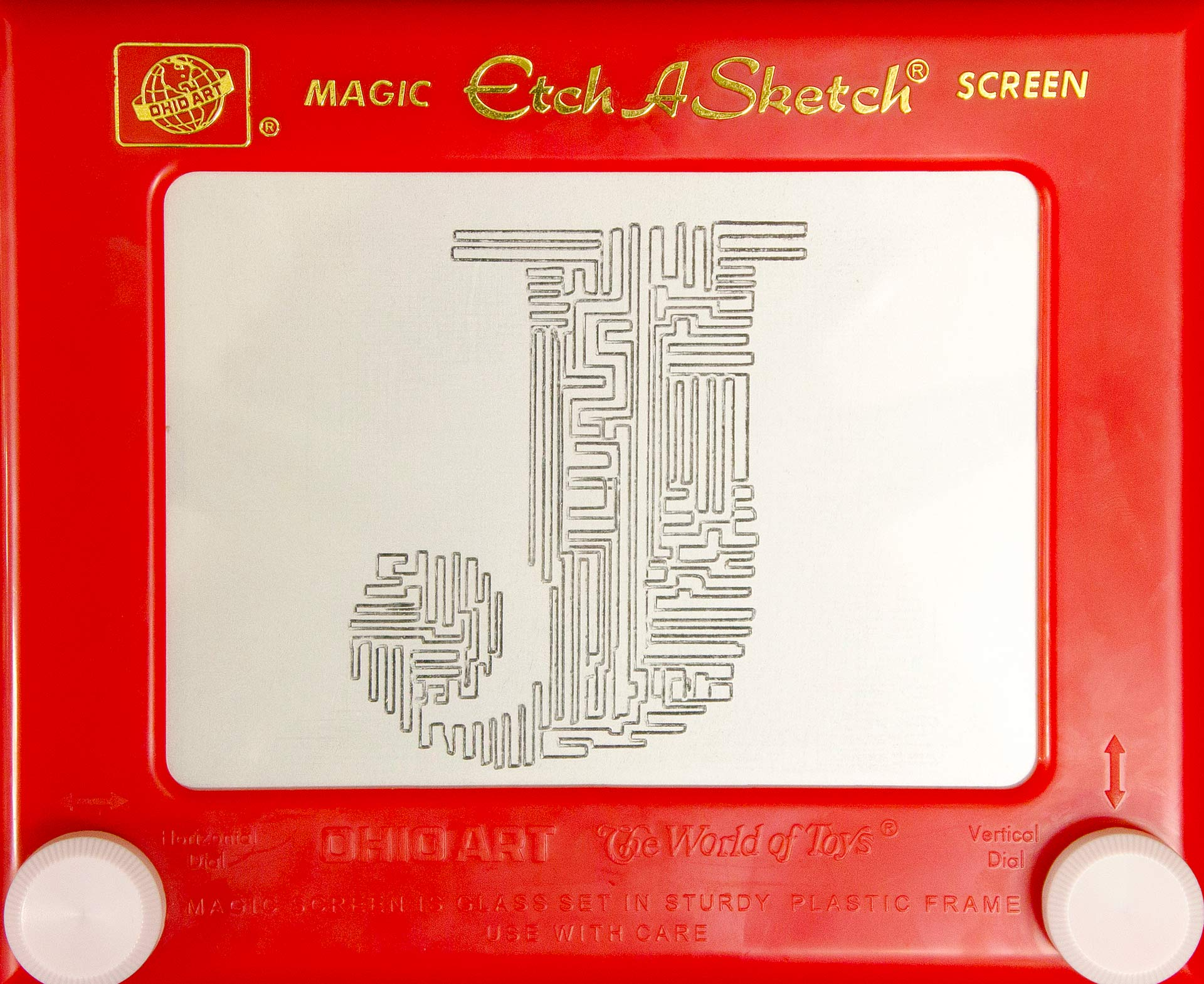Etch A Sketch Typography
