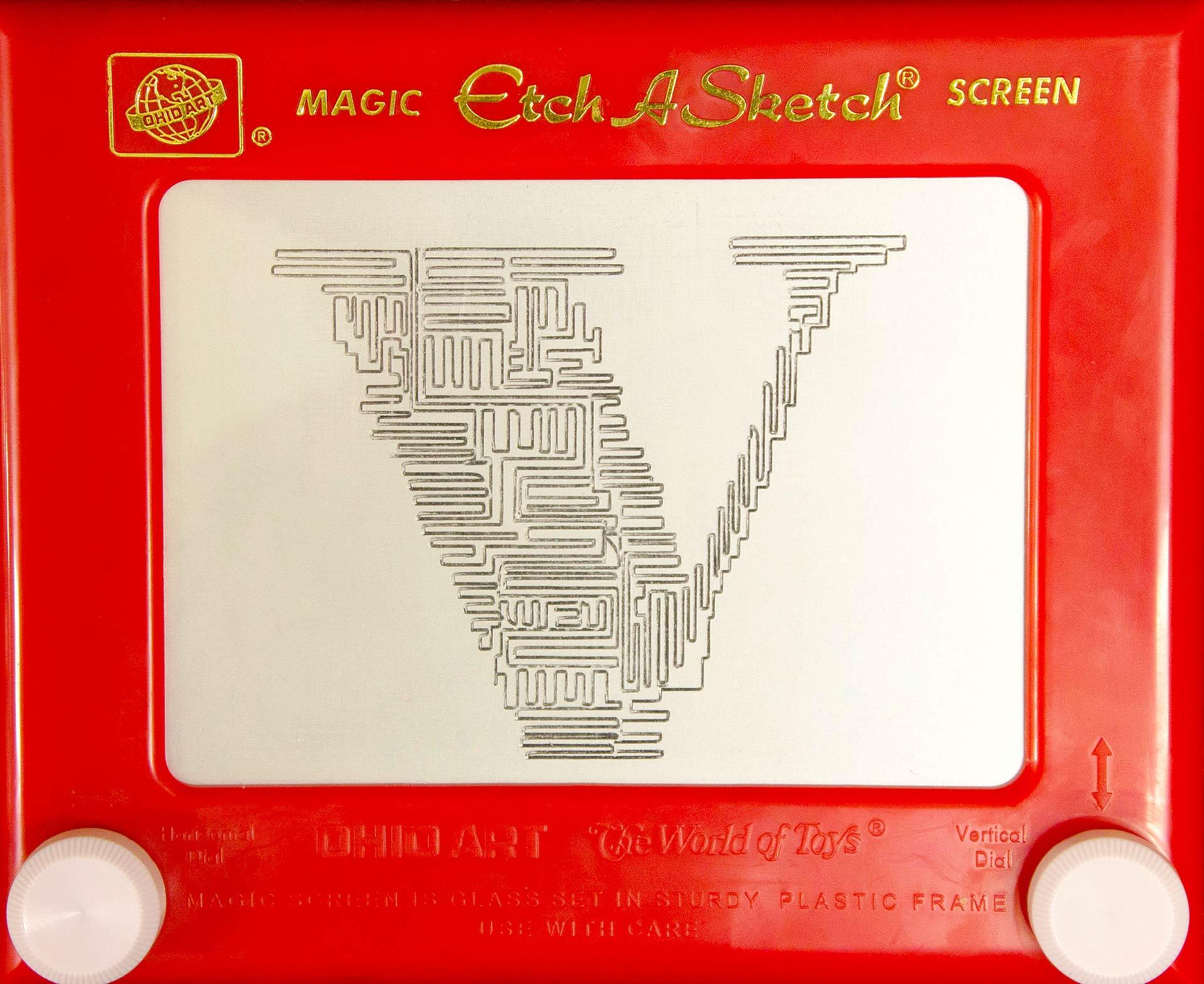 Etch A Sketch Typography