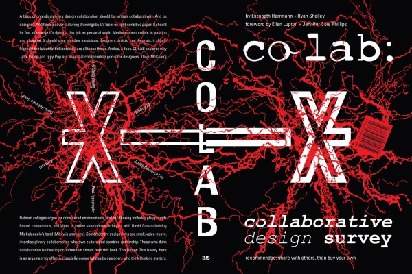 BGSUGD Faculty Ryan Shelley Publishes First Book, CO-LAB: Collaborative Design Survey