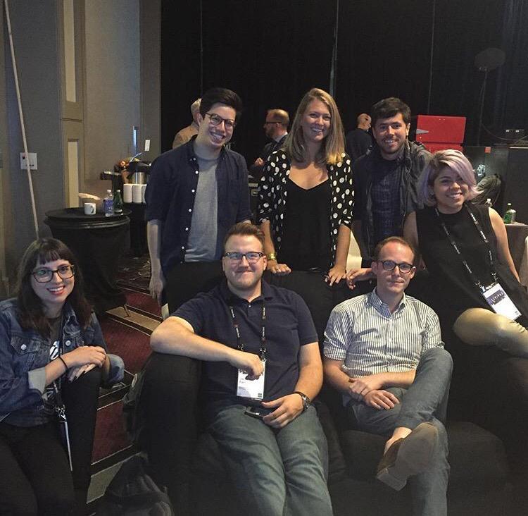 GD Faculty Amy Fidler, Jenn Stucker, and Alumni Jacob Parr Crash The Big Easy with AIGA