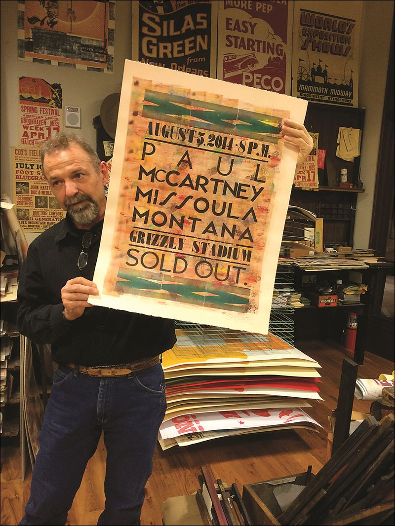 BGSUGD Faculty Member Lori Young speaks at UCDA about Collaboration with Hatch Show Print
