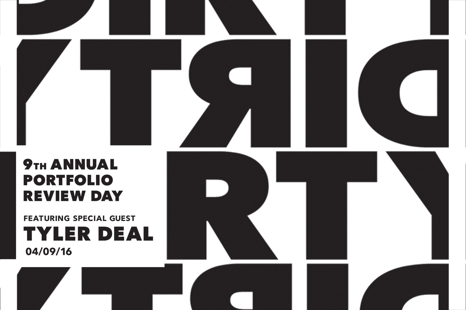 DIRTY: 9th Annual Portfolio Review Day