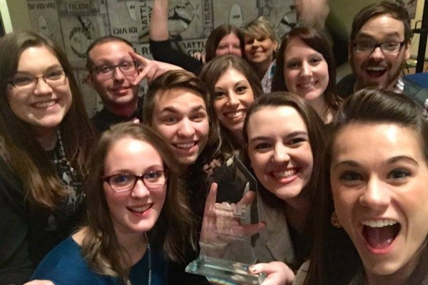 BGSUGD win big at the 2016 ADDYs