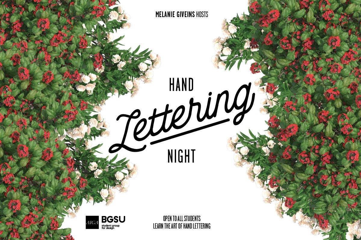 Hand Lettering Night