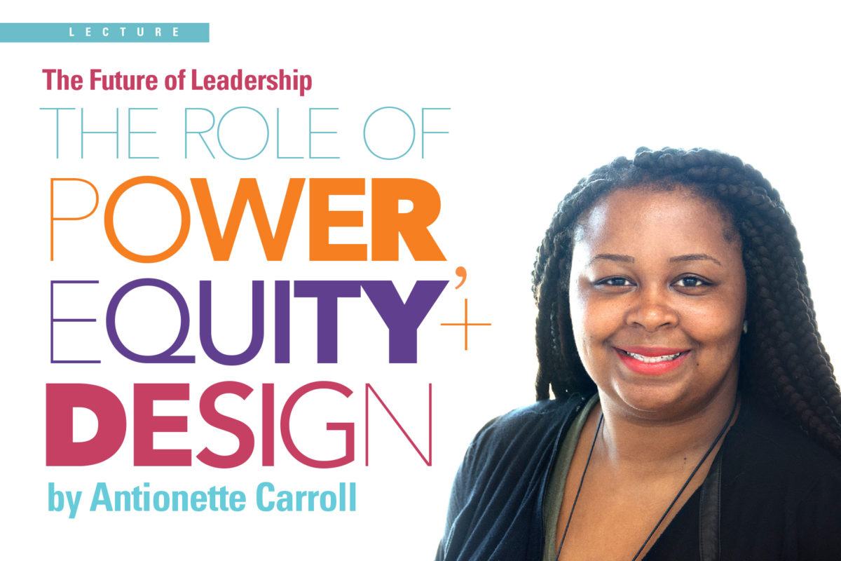 Antionette Carroll Lecture
