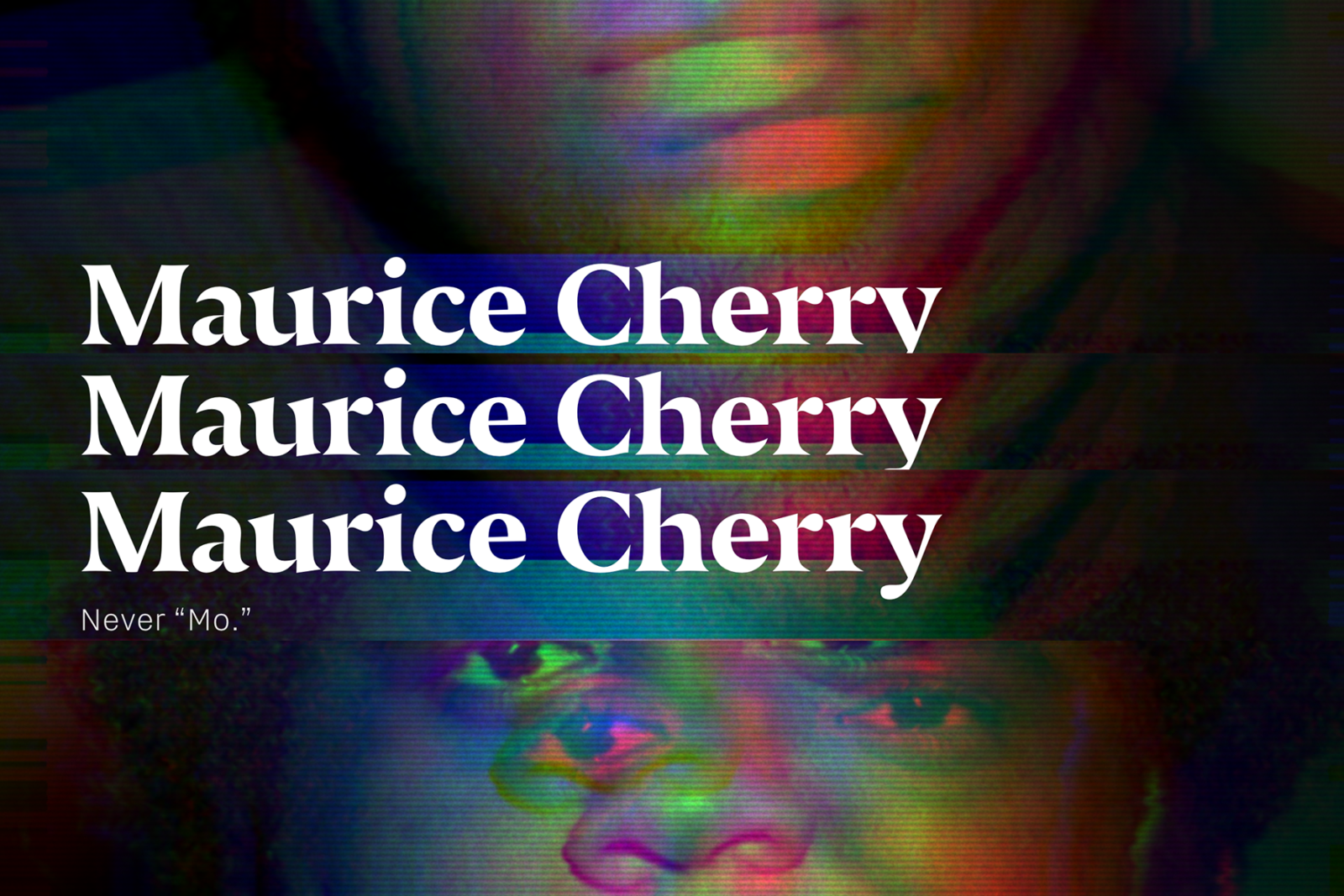 Maurice Cherry Lecture