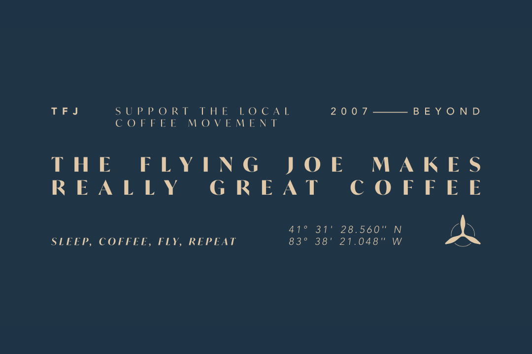 Actual Coffee, The Flying Joe & What Do You Recommend?