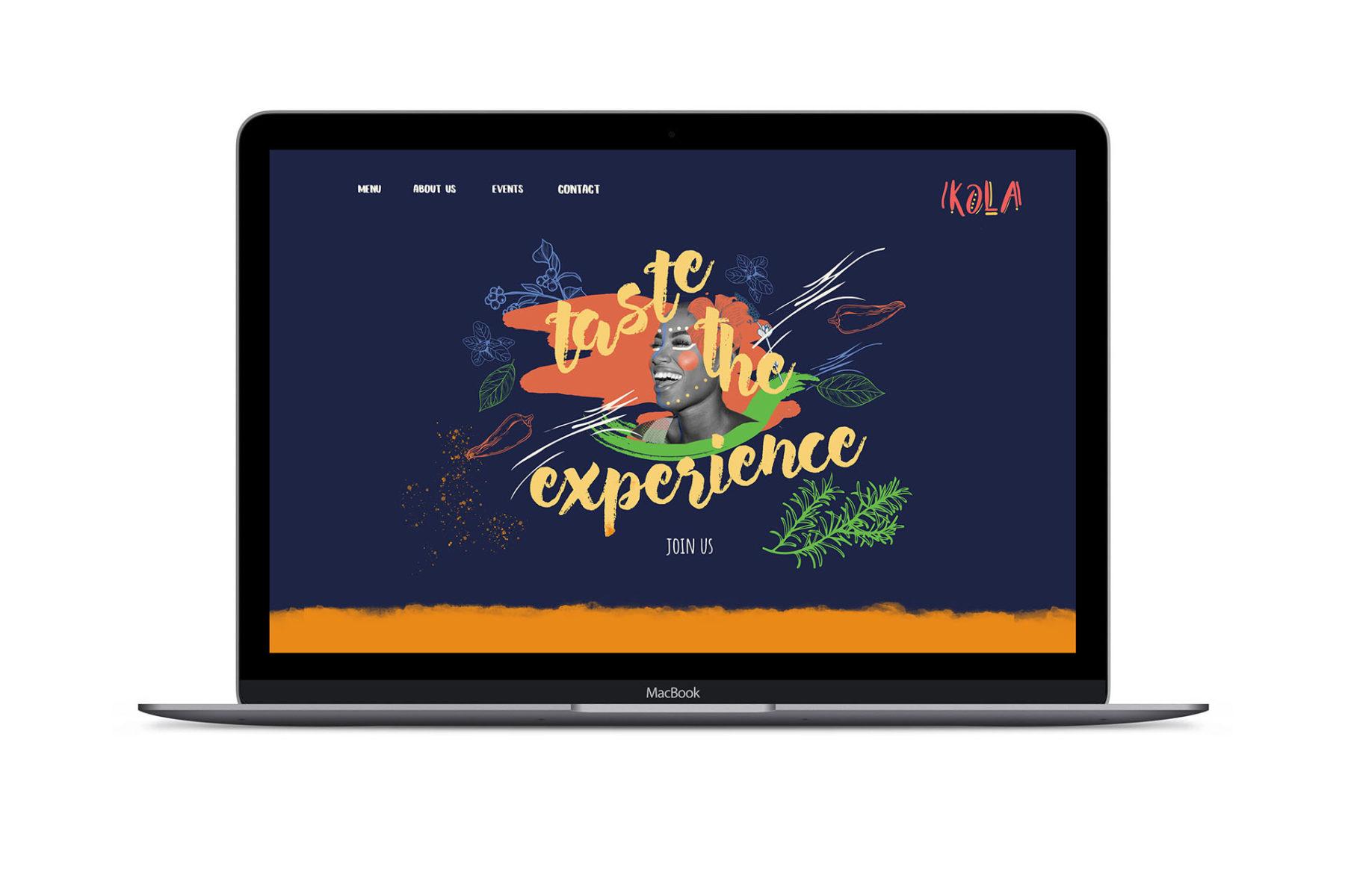 Kola Restaurant Re-Branding