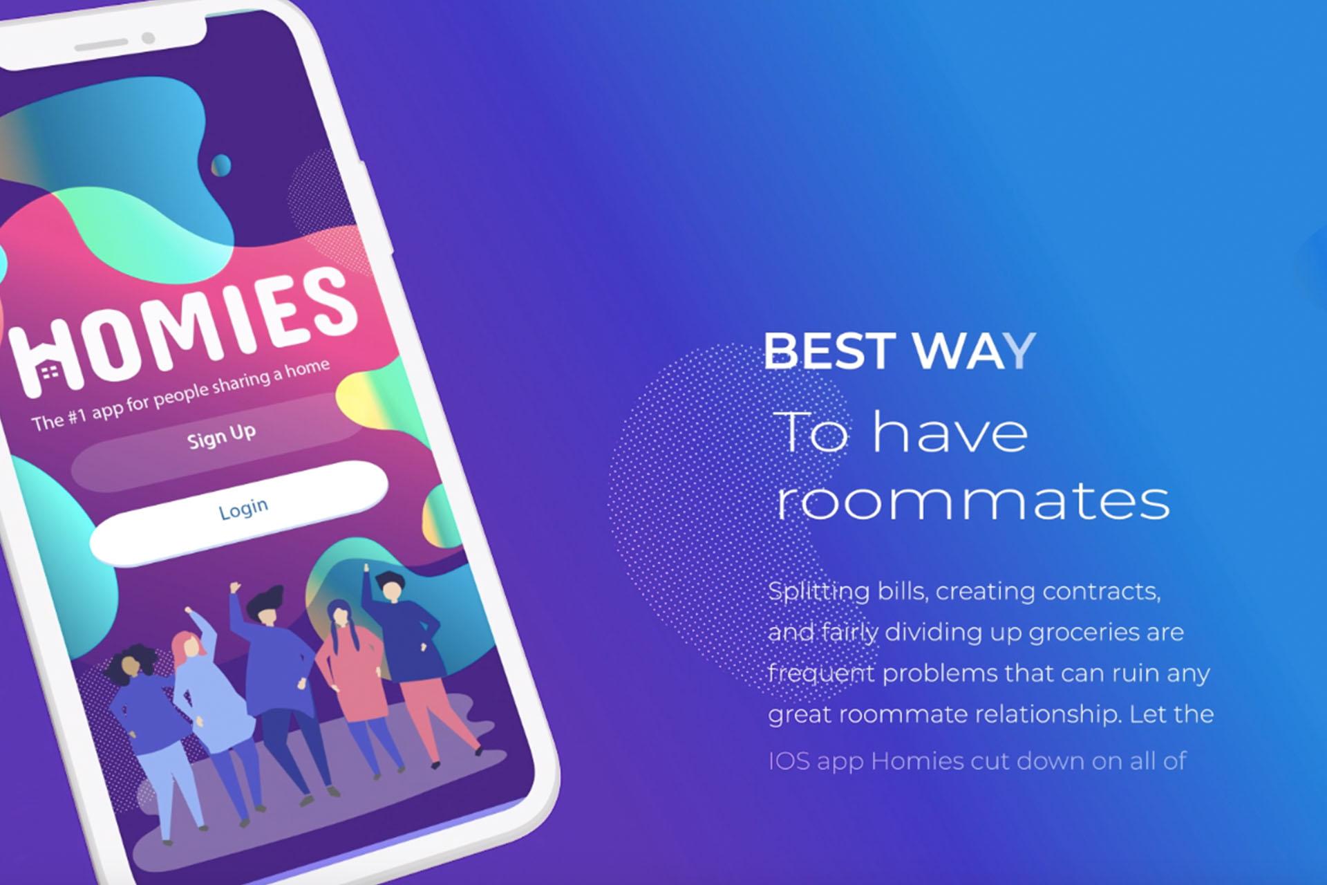 Homies Roommate APP