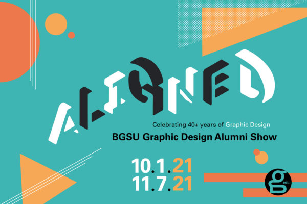 Calling all BGSUGD Alums! Submit for ALIGNED // 40+ Years of Graphic Design