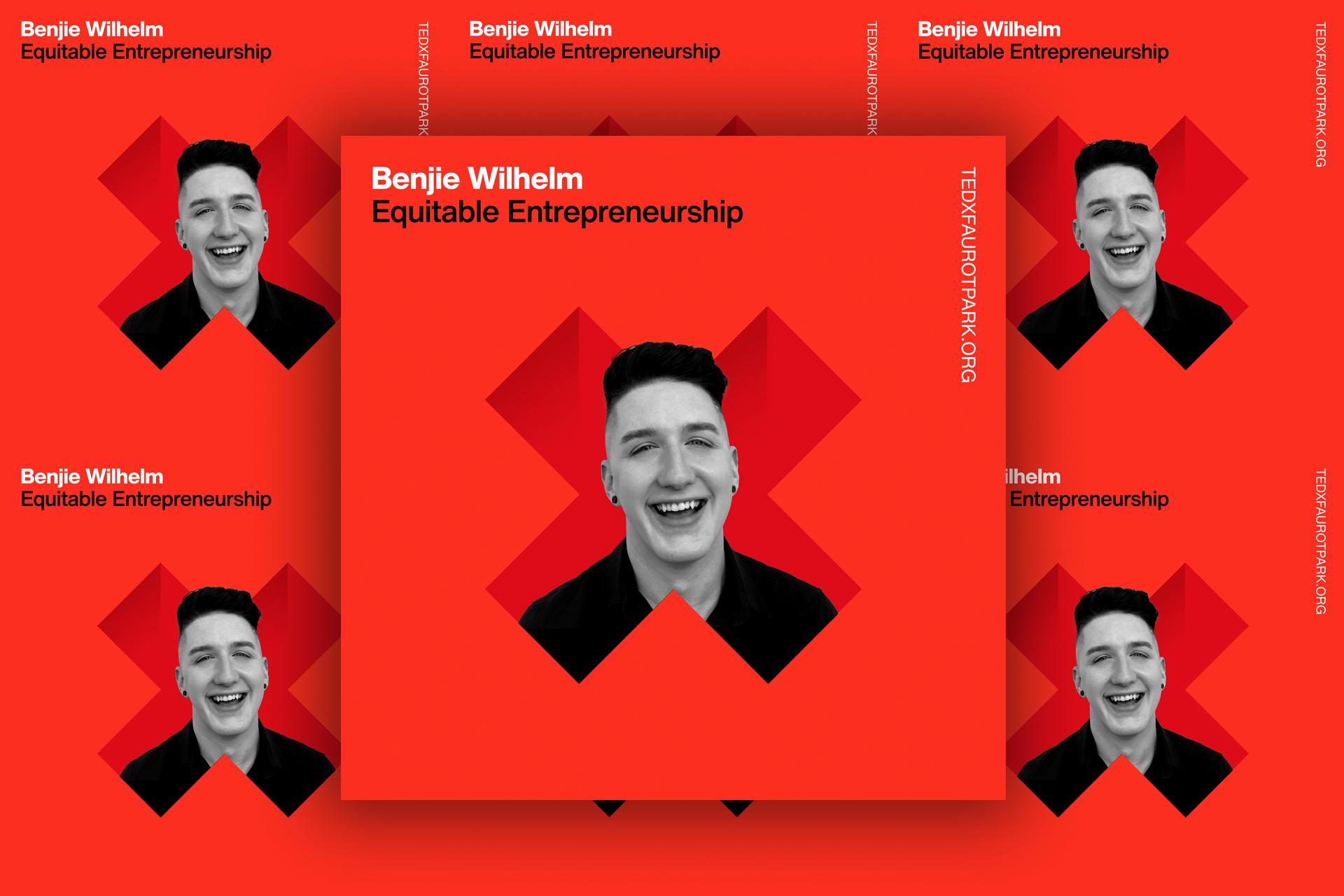 Benjie Wilhelm ('17) to present as a TedxFaurotPark Speaker on Equitable Entrepreneurship in October.